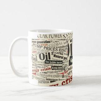 Newspaper fashion coffee mug