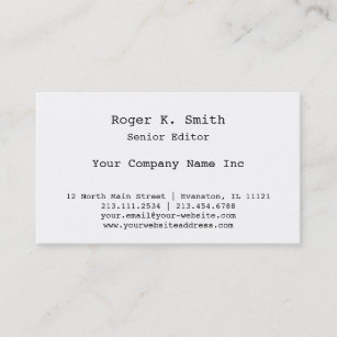 Newspaper journalist business cards business card printing zazzle ca newspaper journalist or magazine editors retro business card reheart Images