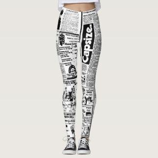 Newspaper Leggings Design