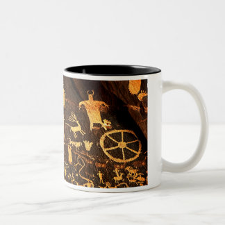 Newspaper Rock Art Coffee Mug