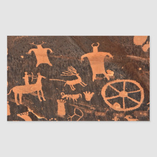 Newspaper Rock Petroglyph Panel - Utah