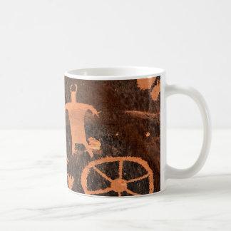 Newspaper Rock Petroglyph Panel - Utah Coffee Mug