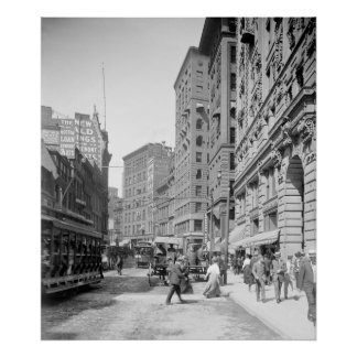 Newspaper Row: 1906 Poster