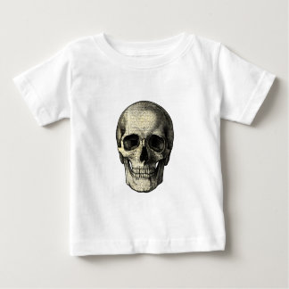 Newspaper skull baby T-Shirt