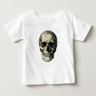 Newspaper skull baby T-Shirt
