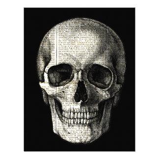 Newspaper skull letterhead