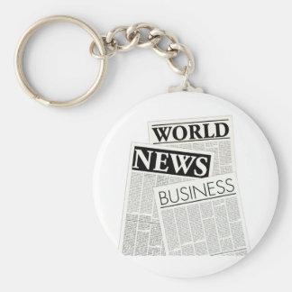 Newspapers Keychain