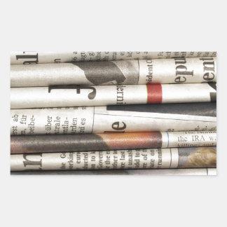 Newspapers Sticker