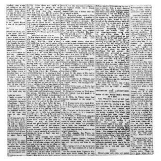 Newsprint Napkin