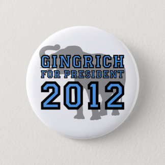 Newt Gingrich 2012 2 Inch Round Button