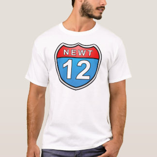 Newt Road to the White House 2012 T-Shirt