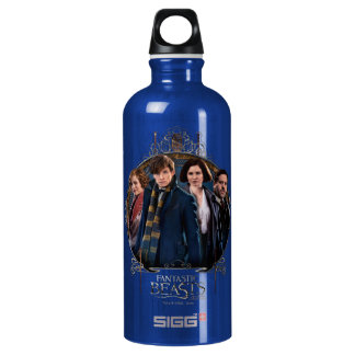 NEWT SCAMANDER™ and Company Art Nouveau Frame Water Bottle