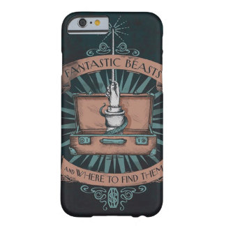 Newt Scamander Barely There iPhone 6 Case