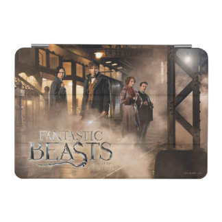 NEWT SCAMANDER™ & Co. At The Train Station iPad Mini Cover