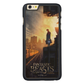 Newt Scamander in Destroyed Building Carved® Maple iPhone 6 Plus Case