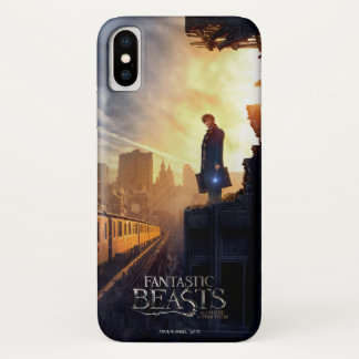 NEWT SCAMANDER™ in Destroyed Building Case-Mate iPhone Case