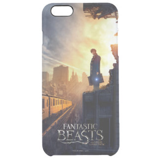 Newt Scamander in Destroyed Building Clear iPhone 6 Plus Case