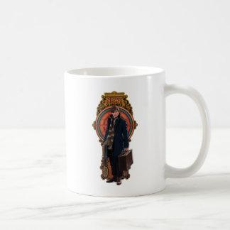 NEWT SCAMANDER™ Standing Art Nouveau Panel Coffee Mug