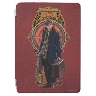 NEWT SCAMANDER™ Standing Art Nouveau Panel iPad Air Cover