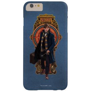 NEWT SCAMANDER™ Walking Art Nouveau Panel Barely There iPhone 6 Plus Case
