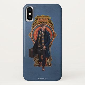 NEWT SCAMANDER™ Walking Art Nouveau Panel Case-Mate iPhone Case