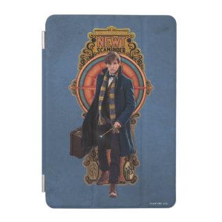 NEWT SCAMANDER™ Walking Art Nouveau Panel iPad Mini Cover