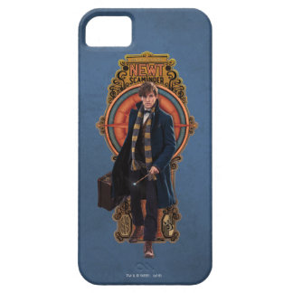 NEWT SCAMANDER™ Walking Art Nouveau Panel iPhone 5 Case