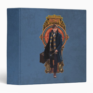 NEWT SCAMANDER™ Walking Art Nouveau Panel Vinyl Binders