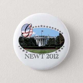Newt White House 2012 2 Inch Round Button