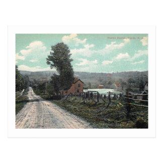 Newton Ave., Sparta, New Jersey Vintage Postcard