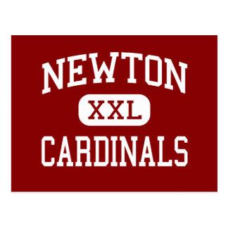 Newton - Cardinals - Senior - Newton Iowa Postcard