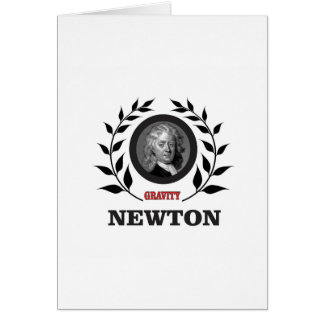 newton gravity card