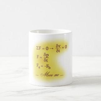 Newton Laws of Motion Coffee Mug