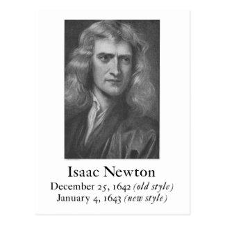 Newton Postcard