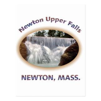 Newton Upper Falls Postcard