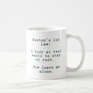 Newton's 1st Law Coffee Mug