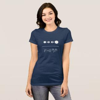 Newton's Law Of Gravitation T-Shirt