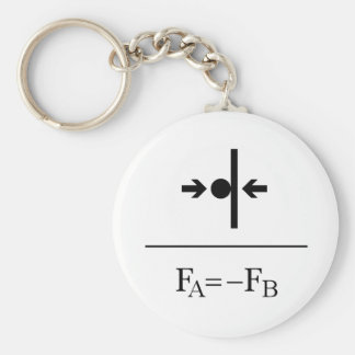 Newton's Third Law Keychain