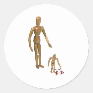 NewTricycle112409 Round Sticker