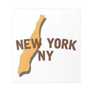 Newyork NY Notepads