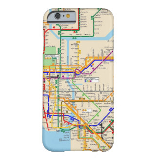 Newyork subway barely there iPhone 6 case
