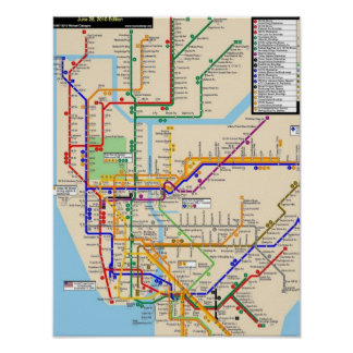 Newyork subway Poster