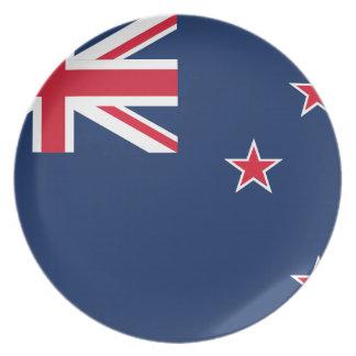 newzealand flag plate