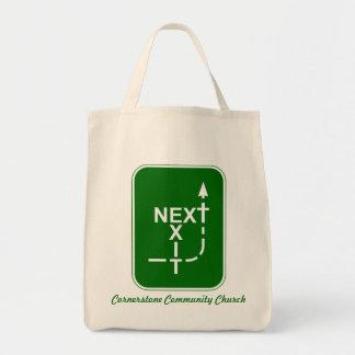 Next Exit Cornerstone Tote Bag