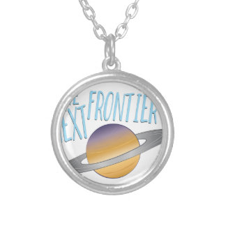Next Frontier Silver Plated Necklace