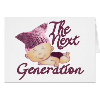 Next Generation Feminist #1E Card