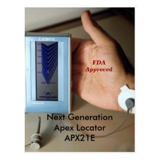 Next GenerationApex Locator  APX21E. Here. Now. Postcard