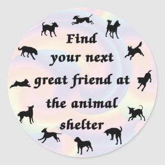 Next Great Friend Classic Round Sticker
