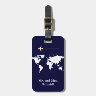 next Mr and Mrs travel personalized Luggage Tag
