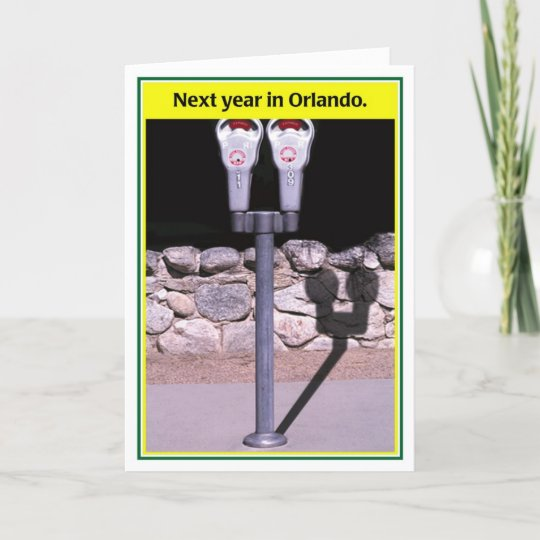 Next Year in Orlando Funny Passover Card
